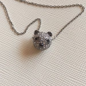 Fossil Panda Necklace
